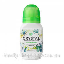 Натуральный роликовый дезодорант Кристалл с экстрактами ванили и жасмина, 66 мл