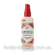 Натуральный дезодорант-спрей Кристалл с экстрактом граната, 118 мл