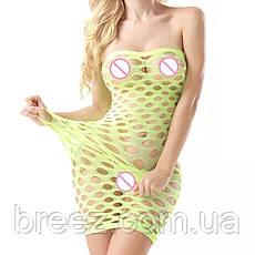 Эротическое платье Крупная сетка, фото 2