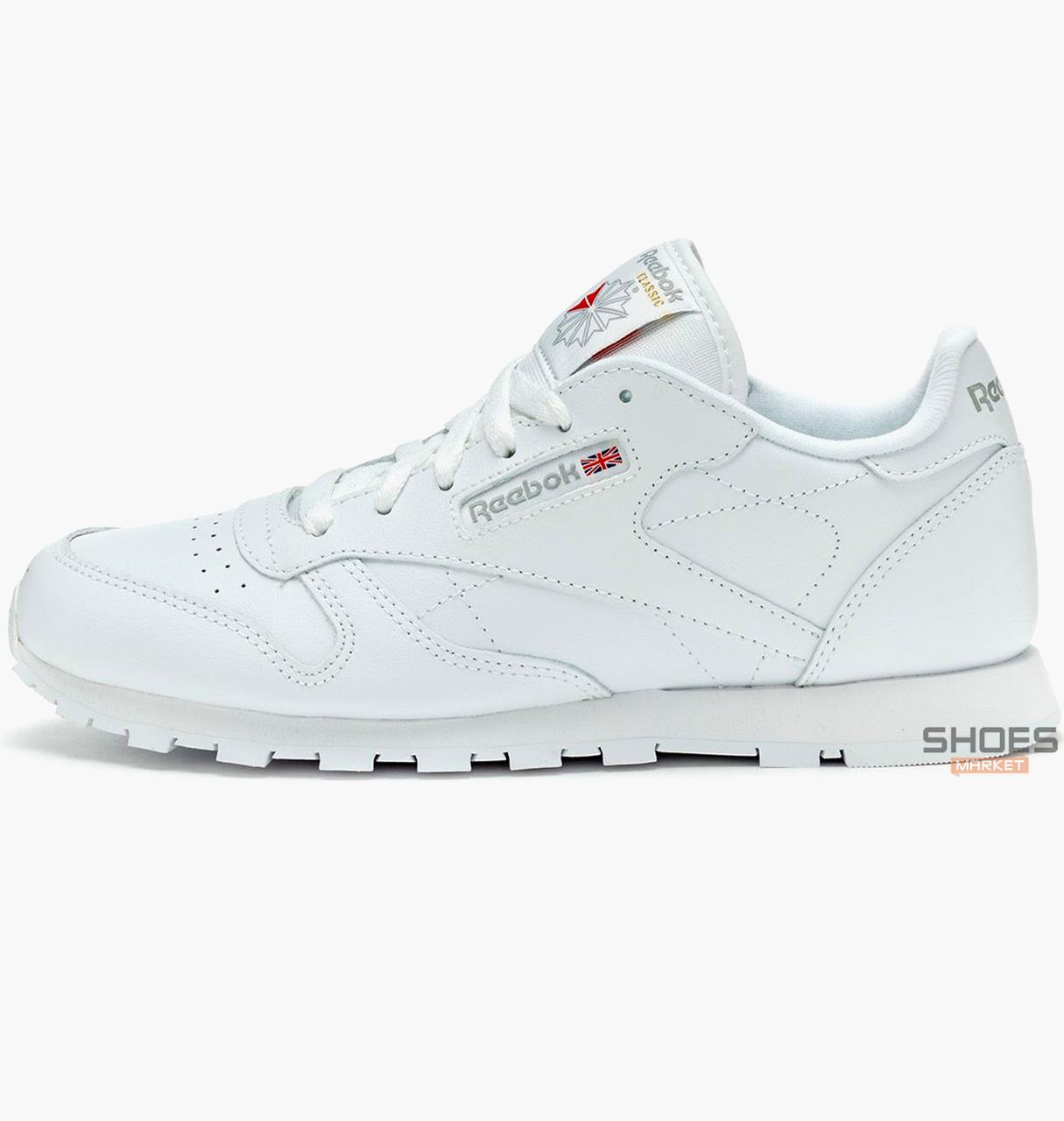 Женские кроссовки Reebok Classic Leather White 50151, оригинал