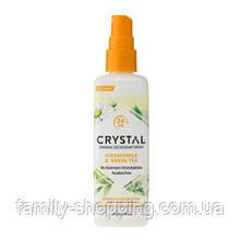 Натуральний дезодорант-спрей для тіла Кристал з екстрактами ромашки і зеленого чаю, 66 г (США)