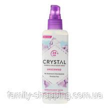 Натуральный дезодорант-спрей для тела Кристалл (без запаха), 118 мл