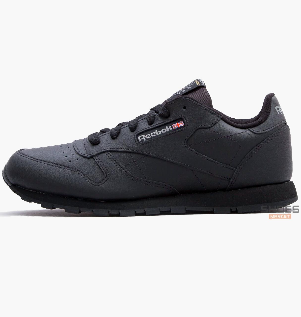 Женские кроссовки Reebok Classic Leather Black 50149, оригинал