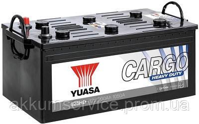 Аккумулятор грузовой YUASA Cargo Heavy Duty 200 AH 1050A (625HD)