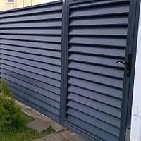 Забор жалюзи Стандарт 0,45мм