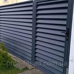 Забор жалюзи Италия Стандарт 0,45мм