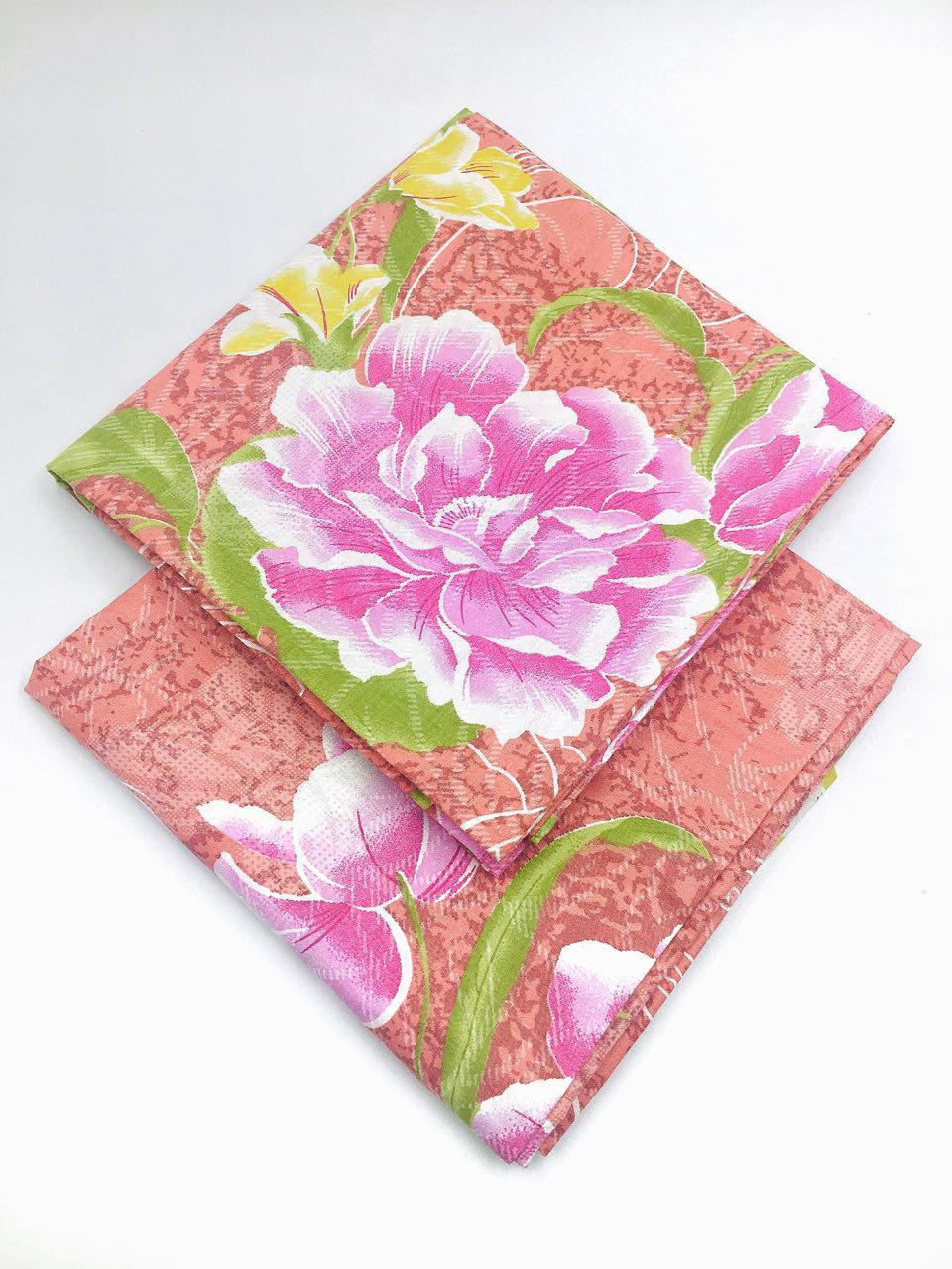 Наволочка (2 шт.) 70х70 из бязи Голд Ivory (розовый)