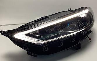 Передние фары Led оптика Ford Mondeo Mk5 / Fusion 2017+ Full LED