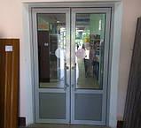 Алюмінієві маятникові двері *, фото 3