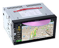 "Автомагнитола 2din Pioneer PI-803 7"" Экран - GPS + DVD + TV + Пульт + Карты 8GB (IGO+Navitel)"