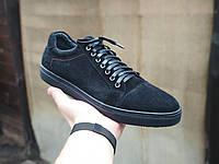 Мужские замшевые туфли кеды, фото 1