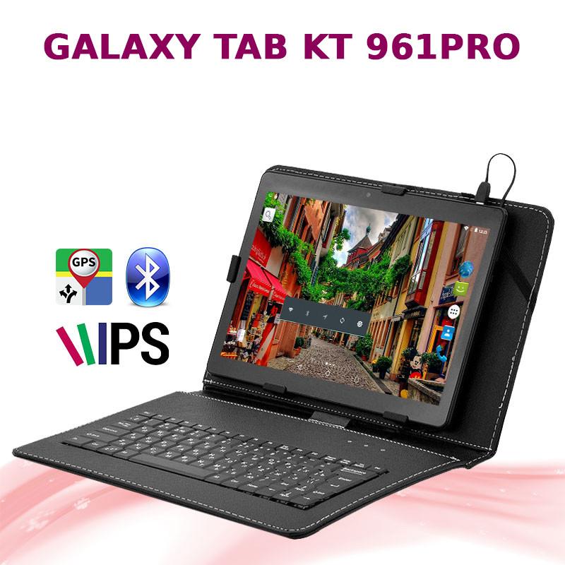 Мега Игровой Планшет-Телефон Galaxy Tab KT 961PRO 2/16GB 3G+Чехол клавиатура, фото 1