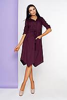 Модное платье женское интересного кроя L-210, фото 1