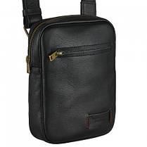 Мужская мини сумка Vittorio-Safino из натуральной кожи, фото 2
