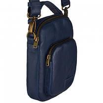 Небольшая повседневная сумка-барсетка Vittorio Safino, фото 2