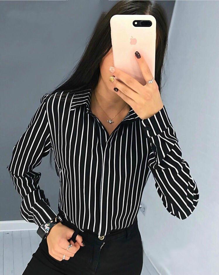 """Женская блузка в полоску """"Felicity"""", фото 2"""