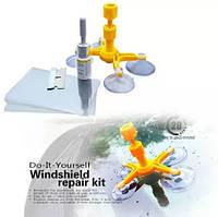 Набор для ремонта лобового стекла, комплект для ремонта стекла автомобиля, набор для ремонта трещин лобового с