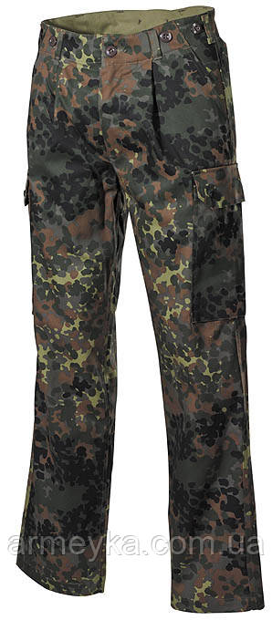 BW полевые брюки, flecktarn