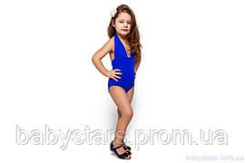 """Дитячий купальник на дівчинку """"Адель"""", синій"""