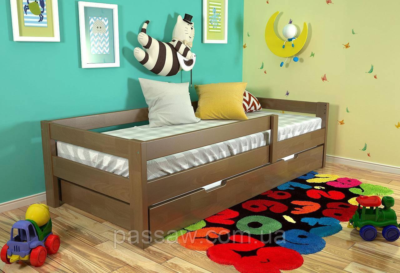 """Кровать деревянная """"Альф"""" 0,9*2,0 сосна"""