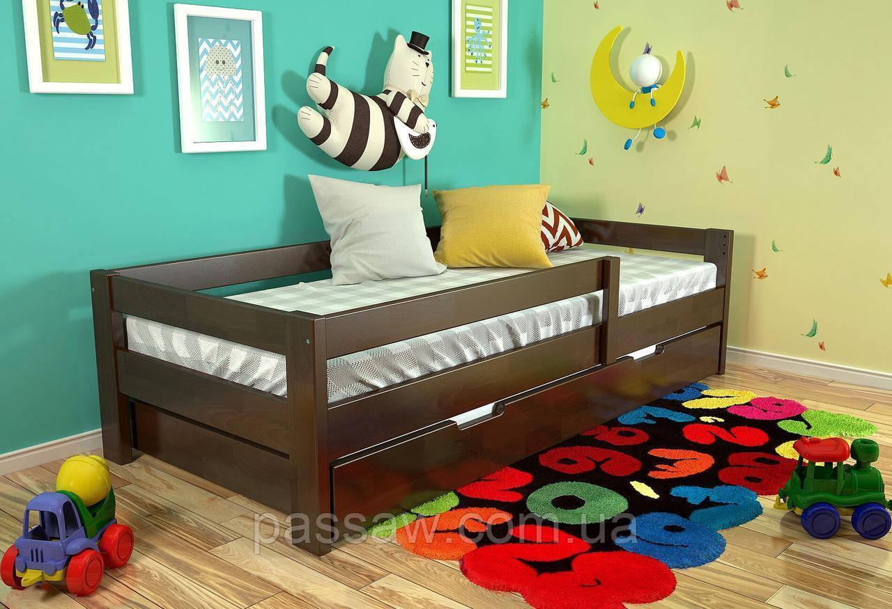 """Кровать деревянная """"Альф"""" 0,9*2,0 бук"""