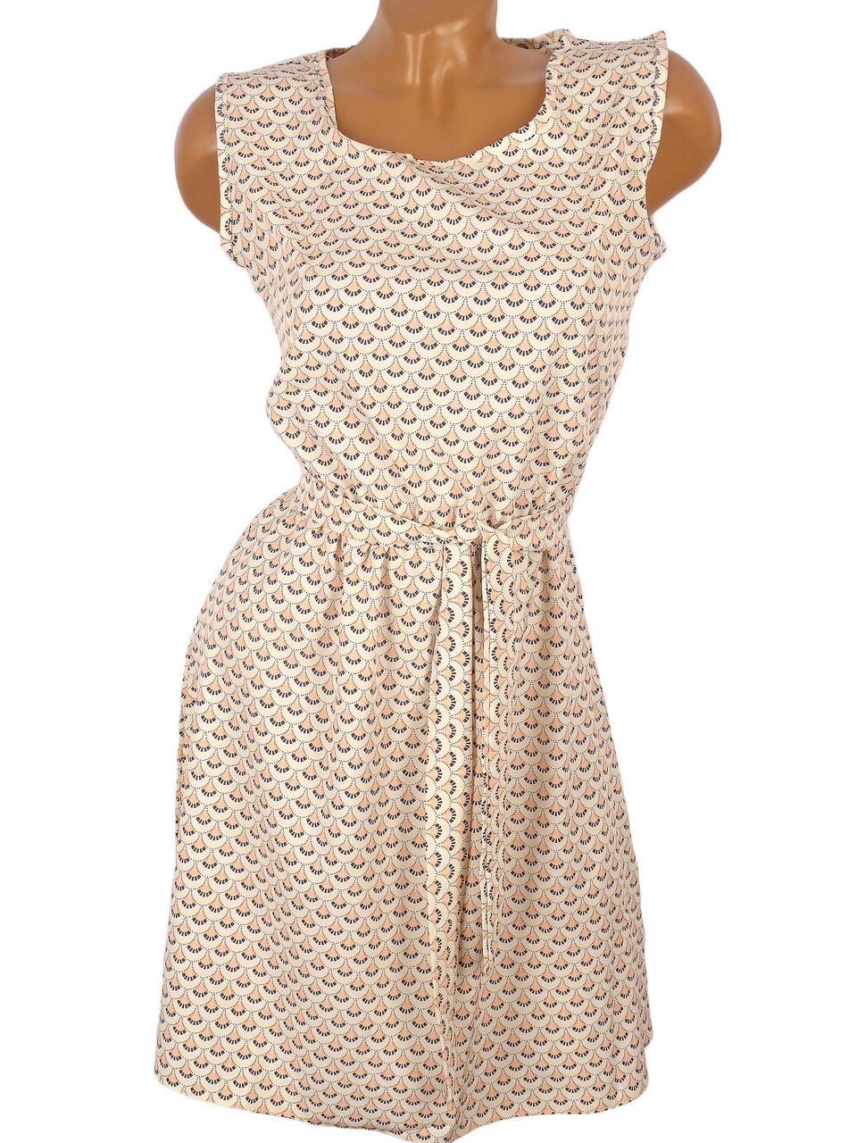 Красивое платье на лето (в расцветках) 44-50