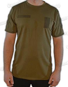 Термофутболка тактична потоотводящая Urban Tactic Flex оливкового кольору (56 розмір)