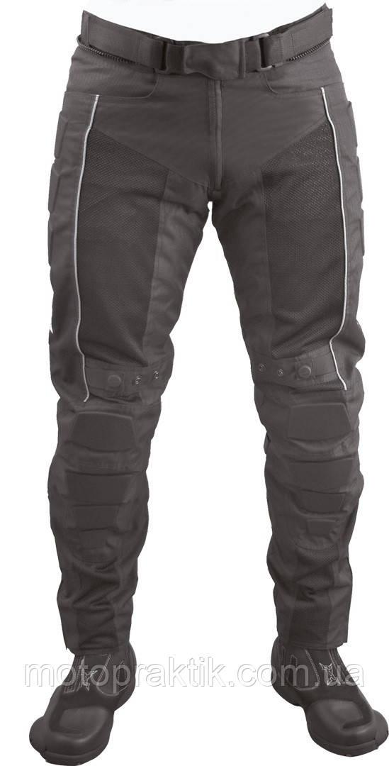 Roleff RO 480 Textile/Mesh Pants Black, XS Мотоштаны текстильні літні з захистом