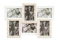 Фоторамка на 6 фотографий Ампир, фото 1