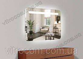 Зеркало led-1 с подсветкой 65х70 см