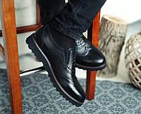 Туфли мужские натуральна кожа броги Webster