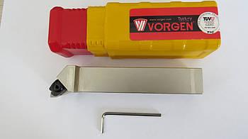 Резец проходной подрезной с механическим креплением 25х25х150 MWLNR M06 Vorgen