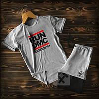 Летние мужские спортивные костюмы шорты+футболка