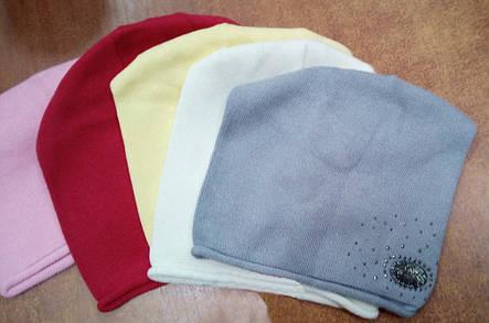 Красивая детская шапка с декоративным элементом., фото 2