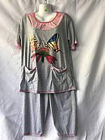 Пижамы женские (XL-5XL) оптом купить от склада 7 км, фото 1