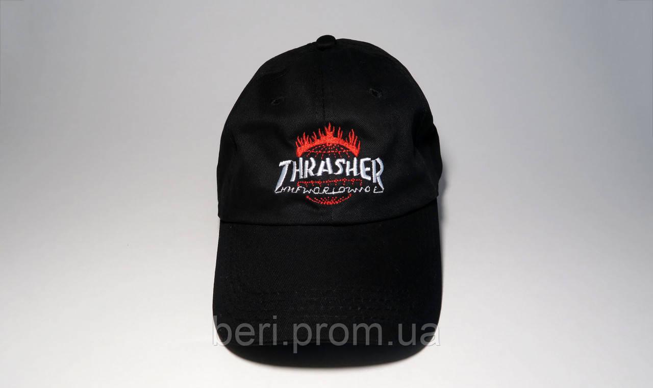 Топовая Бейсболка в стиле Thrasher | Топова Кепка в стилі Трашер (Черный)