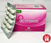 Эстронол 🚩ОРИГИНАЛ❗при климаксе, для гормонального баланса; натуральный препарат для женщин!(бад 60 капсул)