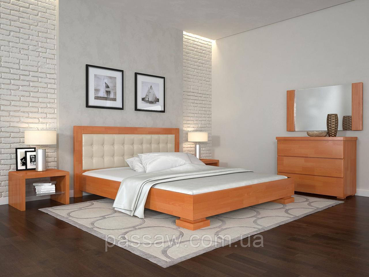"""Кровать деревянная ARBOR DREV  """"Монако"""" 1,8 сосна"""