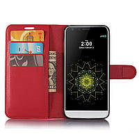 Чехол-книжка Litchie Wallet для LG G6 Красный