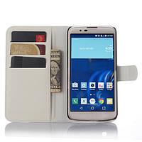 Чехол-книжка Litchie Wallet для LG K10 K410 / K430DS Белый
