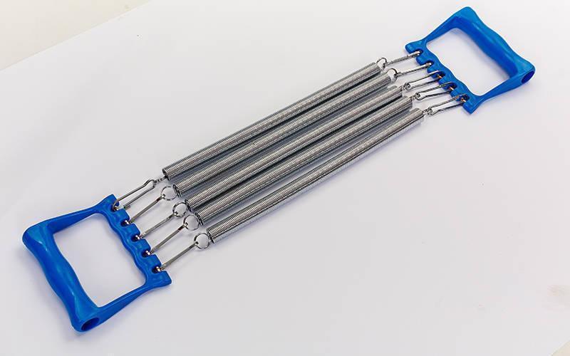 Эспандер пружинный5 пружин  пластиковые ручки 35см  FI-2025