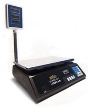 Торговые весы Nokasonic 40 кг со стойкой, фото 2