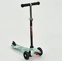 Самокат Mini Квилинг светящиеся колеса, алюминиевая трубка, фото 1