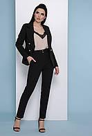 Черные женские брюки со стрелками, фото 1