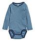Комплект синих боди с длинными рукавами на мальчика 2 - 4 месяца, р. 62, H&M, фото 3