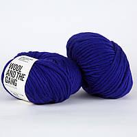 Толстая перуанская пряжа Crazy Sexy Wool (200г/ 80м) - Wool And The Gang™ - цвет Фиолетовый