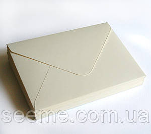 Конверт 162x113 мм, цвет магнолия