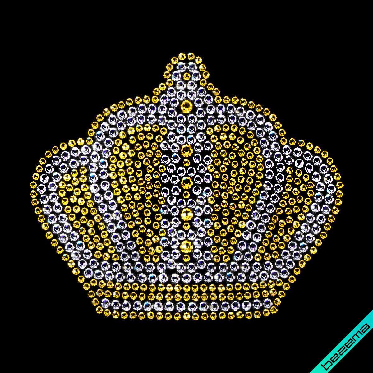 Стрази Корона (Скло,2мм-зол.,3мм-біл.,4мм-зол.)