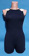 Купальник-полукомбинезон майка- шорты для художественной гимнастики акробатики и хореографии