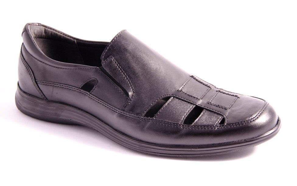 Туфли мужские черные Romani 7370305 р.40-45